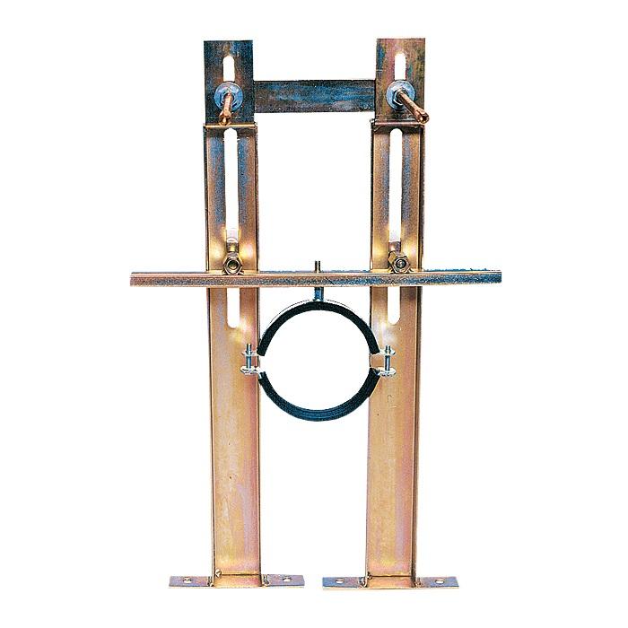 Sanela SLR 03Z - Rám pro zděné příčky, závěsná WC se splachovačem SLW 01NK 08033