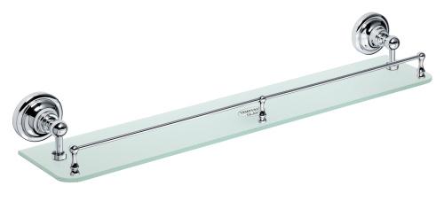 Bemeta design Retro chrom - polička skleněná s hrazdou 144302262