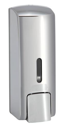 Bemeta design Dávkovač tekutého mýdla, plast lesk (300ml) 121209142