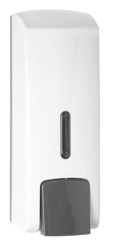 Bemeta design Dávkovač tekutého mýdla, plast bílý (300ml) 121209144