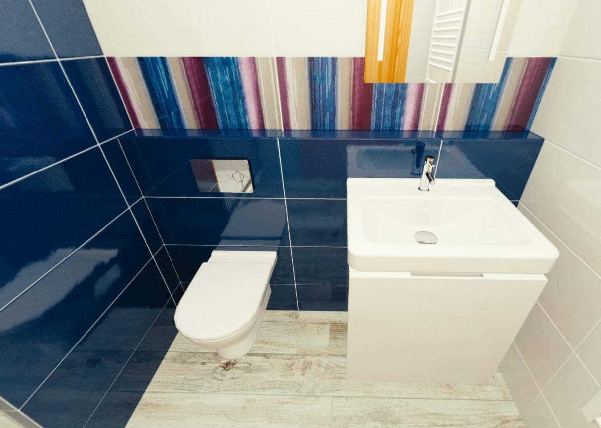 Paneláková koupelna - Novabell Verve
