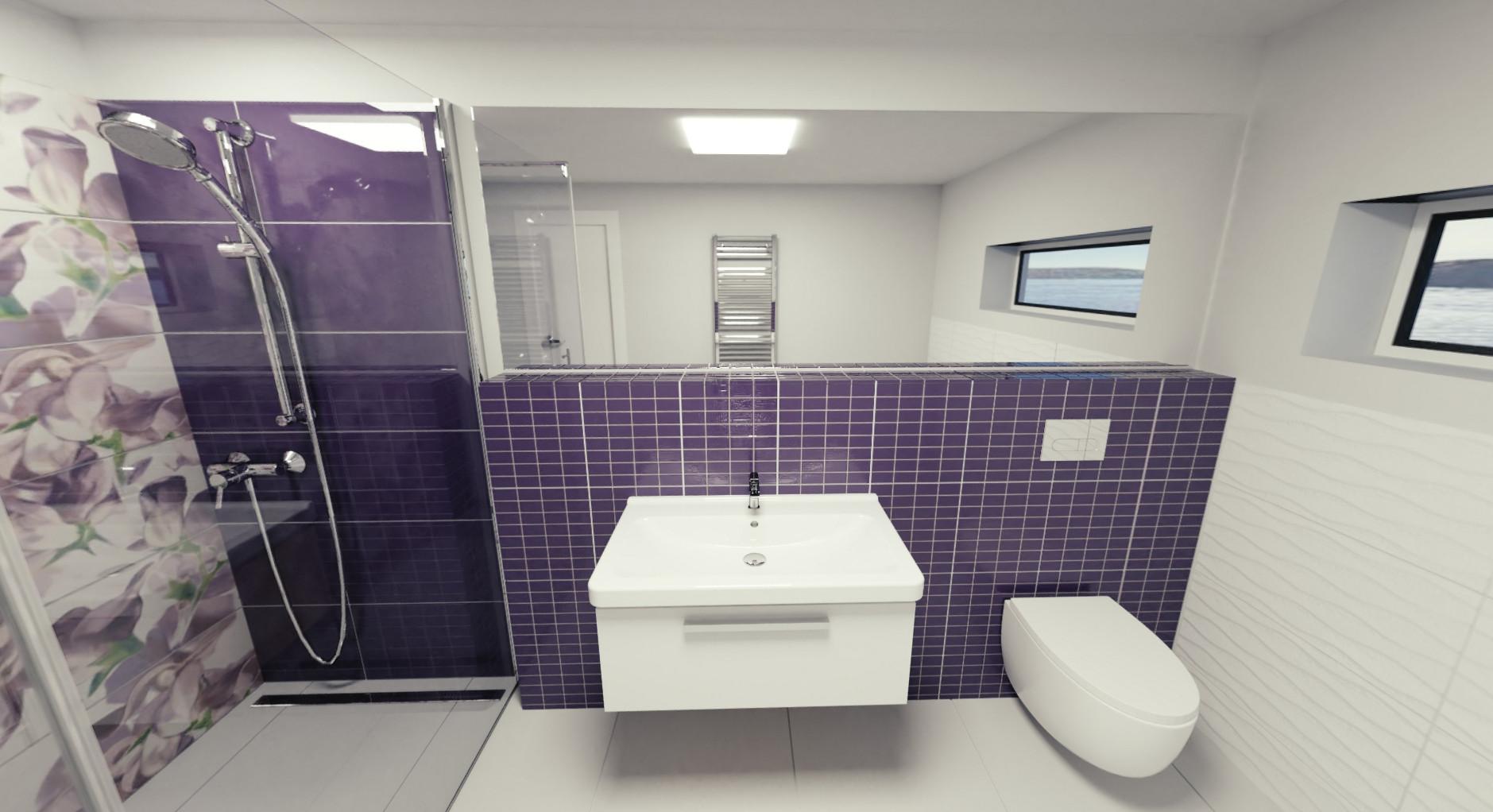 Koupelna Colour Violet