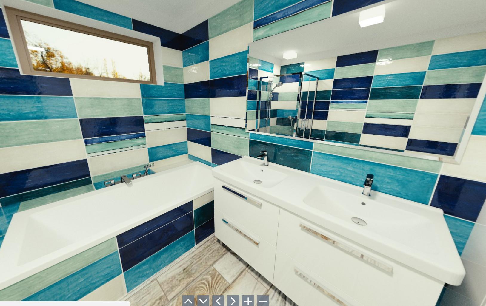 3D návrh - koupelna Shades2