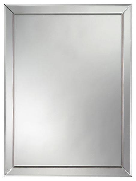 Amirro 703-533 zrcadlo, obdélník, zdobené, 80x60 cm Salto 8060
