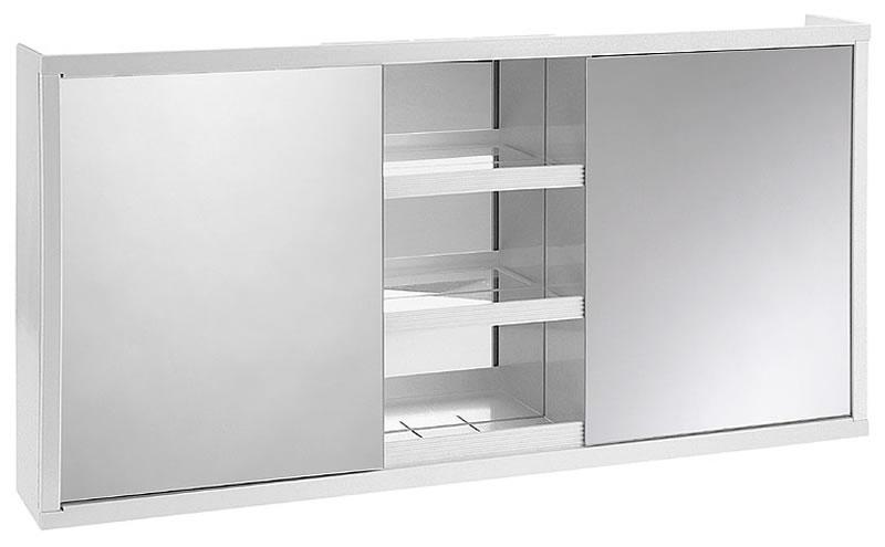 Amirro 017-189 koupelnová skříňka se zrcadlem, 36x73x10 cm Large