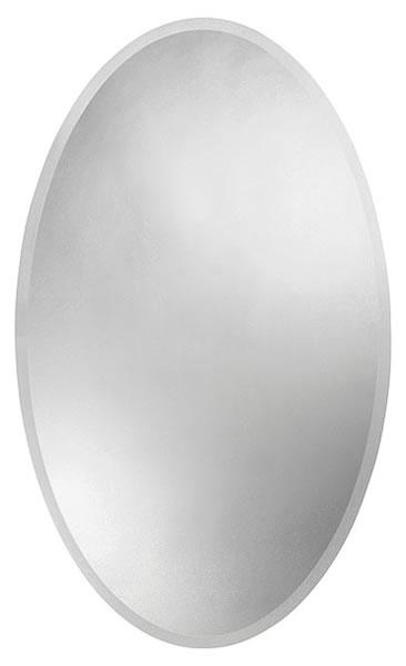 710-112 zrcadlo s fazetou, elipsa, 100x60 cm