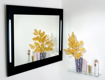 900-773 zrcadlo, obdélník, se zářivkami, se senzorem, 80x110 cm