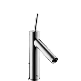 Axor Starck - Páková umyvadlová baterie 185 mm, odtoková souprava, měděné trubičky 10006000