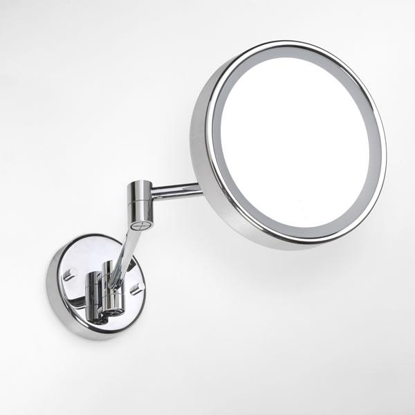 Bemeta design Kosmetické zrcátko s osvětlením kulaté, E LED MS52B 112101142a