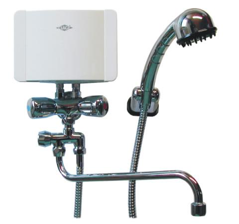 M7/BGU - 6,5 kW malý průtokový ohřívač, přepínání umyvadlo/sprcha