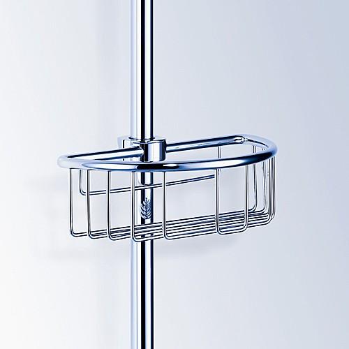 Dornbracht Drátěná polička, montáž na sprchovou tyč 82290970-00