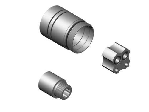 Dornbracht Prodloužení 20 mm, pro umyvadlové a sprchové pákové baterie 1207097090