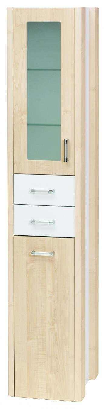 Dřevojas Dreja plus SVZ 35 K - skříňka vysoká s košem, závěsná, bříza 94556