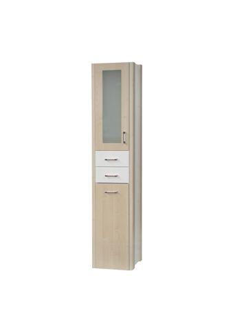 Dřevojas Dreja plus SVZ 35 K - skříňka vysoká s košem, závěsná, švestka 94501