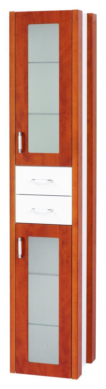 Dřevojas Dreja plus SVZ 35 L/P - skříňka vysoká, závěsná, calvados 94419