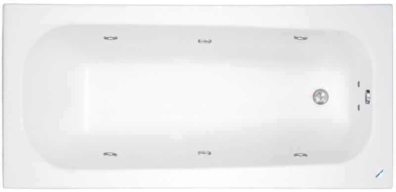 Teiko Klasik 120x70 - masážní systém Basic (vodní masáž) BASIC - Klasik 120