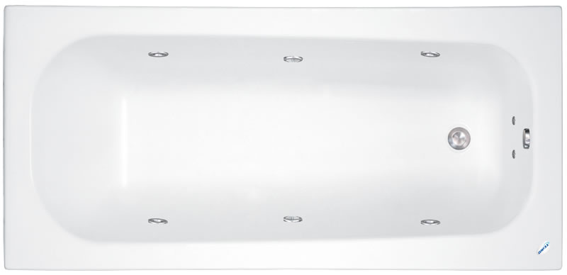 Teiko Klasik 120x70 - masážní systém Eco Hydroair (vodní a vzduchová masáž) ECO HYDROAIR - Klasik 120