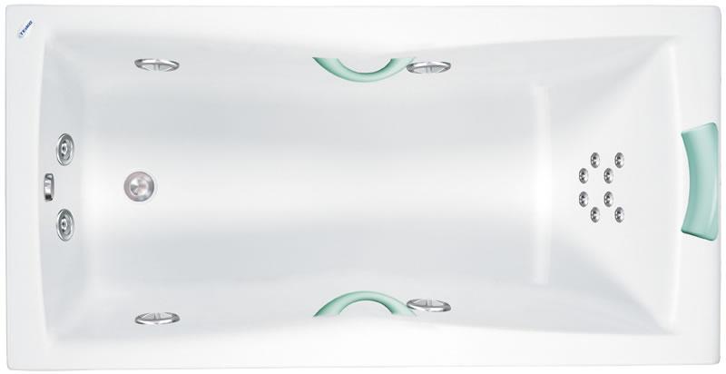 Teiko Vela 150x75 - masážní systém Eco Air (vzduchová masáž) ECO AIR - Vela