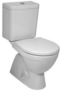 Jika Lyra Plus - klozet stojící, kombinační, hluboké splachování, svislý odpad, boční napouštění, bez sedátka H8263870002413