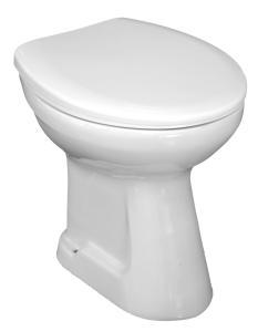 Jika Sam - samostatně stojící klozet, hluboké splachování, odpad středně svislý, bez sedátka H8212270000001