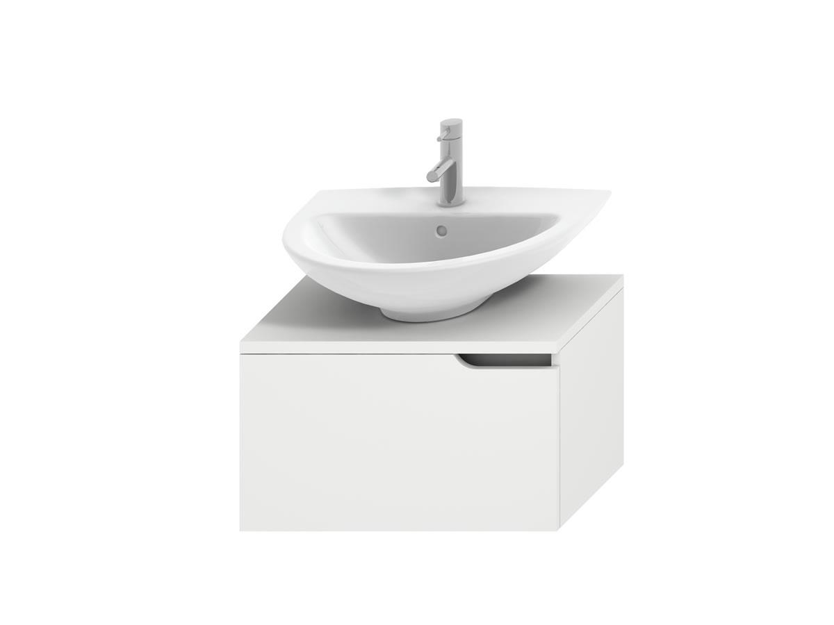 Jika Mio - umyvadlová skříňka pro umyvadlo 50, 55, 60 a 65 cm, bílá H4341111715001