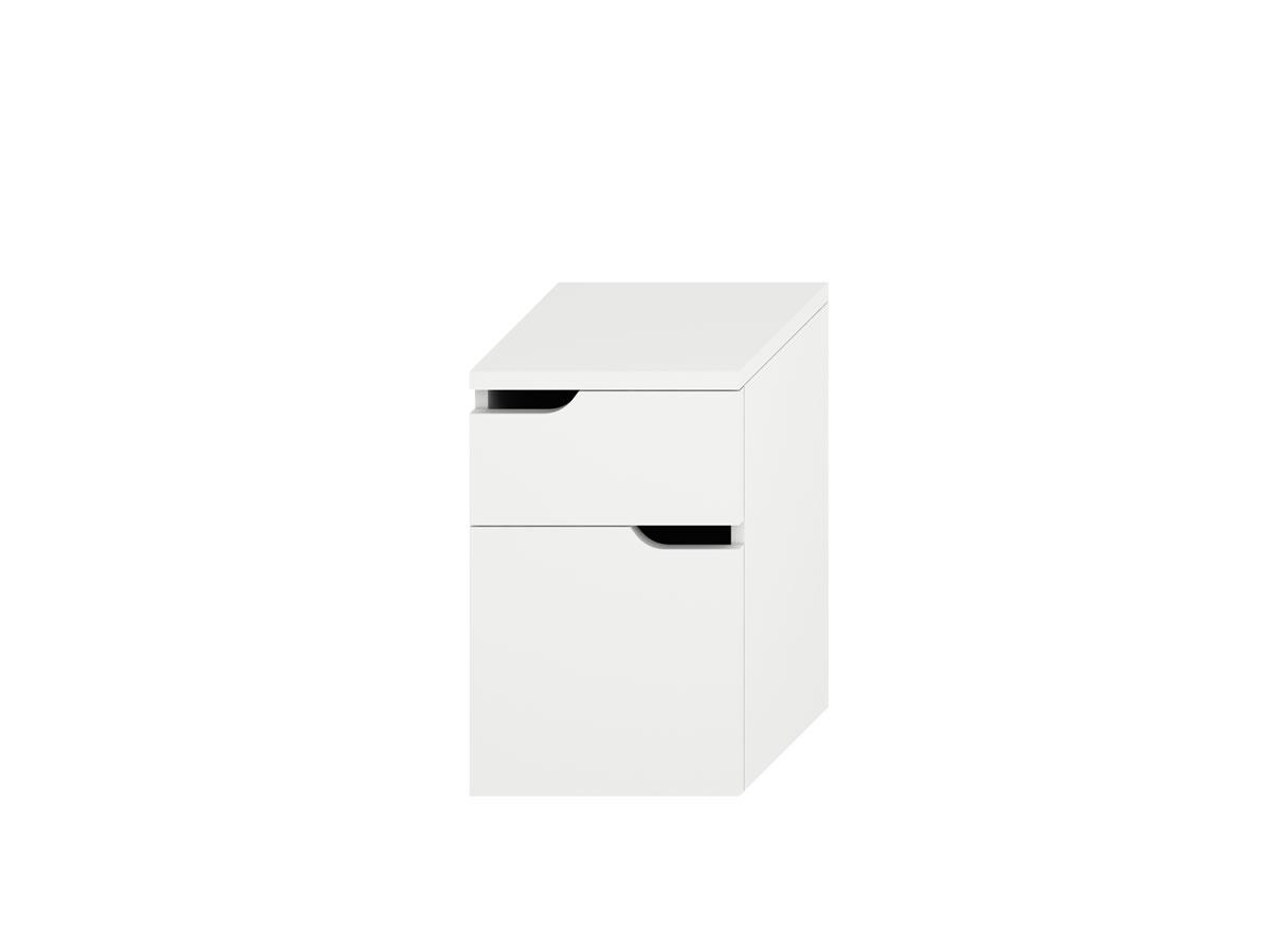 Jika Mio - střední skříňka se 2 zásuvkami, bílá H4341811715001
