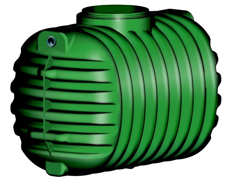 Friatec Cristall - nádrž na dešťovou vodu, pochozí 2650 l 200031