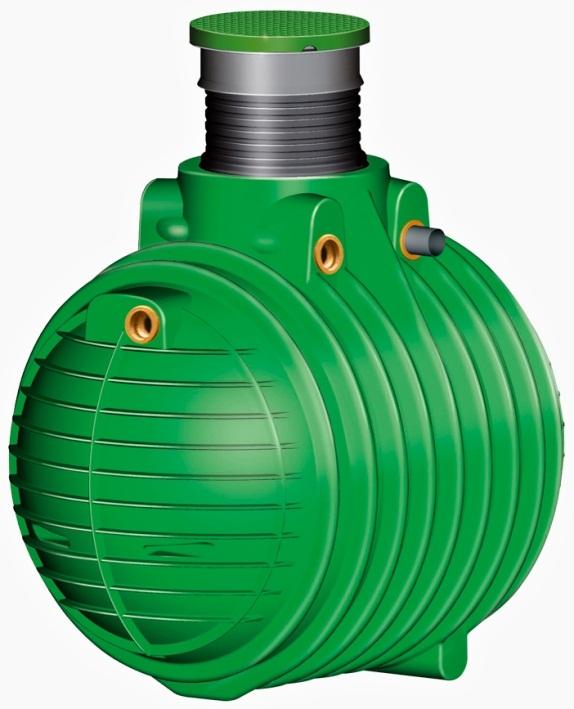 Friatec Columbus - nádrž na dešťovou vodu, pochozí 4500 l 200033