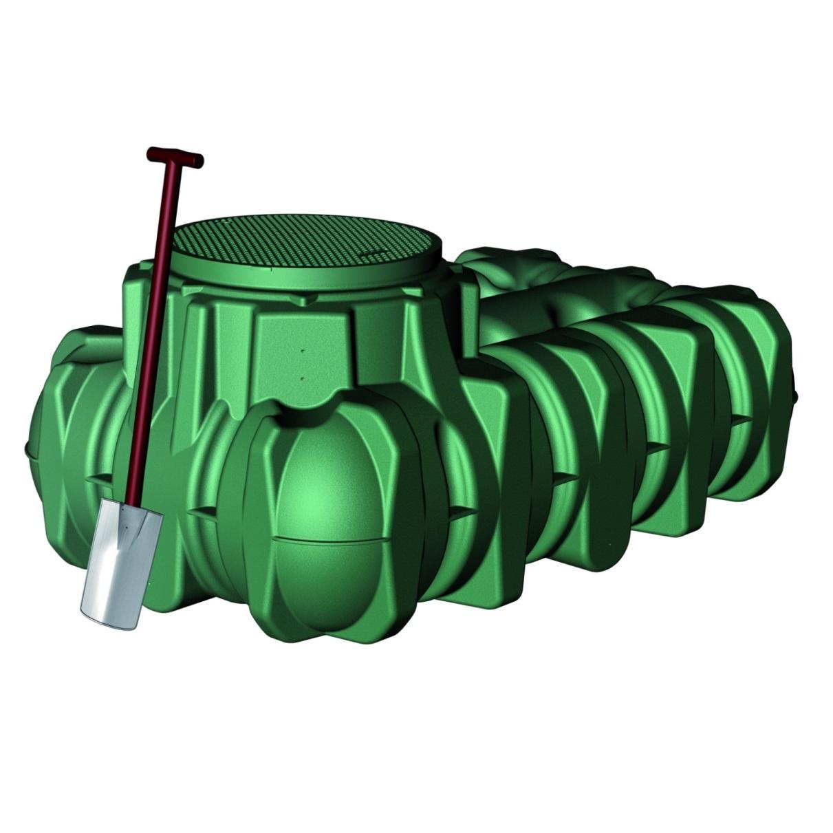 Friatec Li-Lo - nádrž na dešťovou vodu, 1500 l 200050