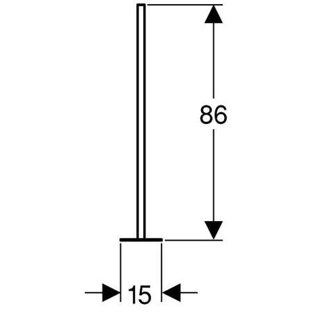 Geberit Kombifix stojiny s patním plechem 457.872.26.1