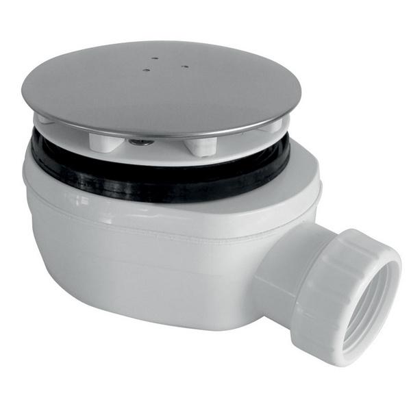 Sifon PB90 EXN - extra nízký, chrom lesklý
