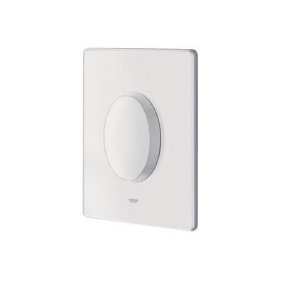 Grohe Skate Air - ovládací WC destička jednočinná, bílá 38564SH0