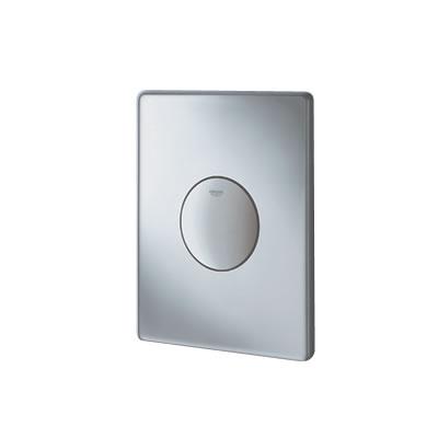 Grohe Skate - ovládací WC destička jednočinná, matný chrom 38573P00