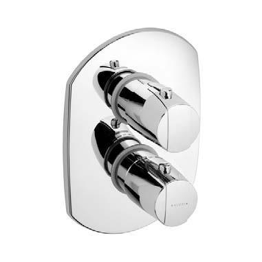 Kludi Objekta- termostatická sprchová podomítková baterie 357300538