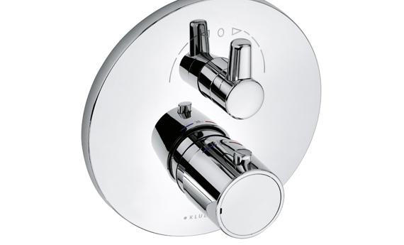 Kludi O-cean - termostatická vanová podomítková baterie 388300545