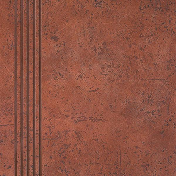 RAKO Antik - schodovka 30x30 cihlová DCA35094