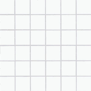 AKCE: Color Two (WHITE) - dlaždice mozaika 5x5 bílá lesklá