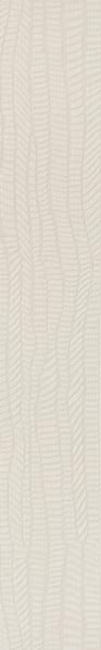 RAKO Defile - bordura kalibrovaná 9x60 bílá DDRST360