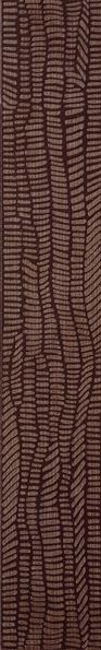 RAKO Defile - bordura kalibrovaná 9x60 hnědá DDRST361
