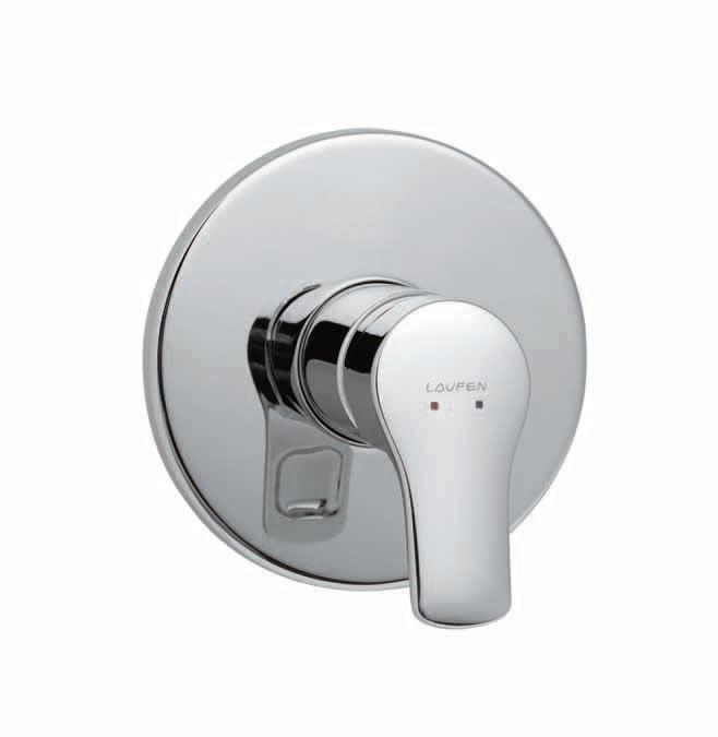 Laufen Citypro - sprchová podomítková baterie H3319560040001