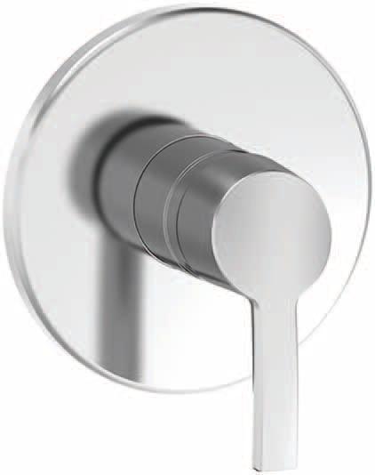 Laufen Curvepro - sprchová podomítková baterie H3316560040001
