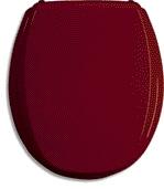 Novaservis WC sedátko červené bordeaux, tvarované dřevo WC/CERVENA