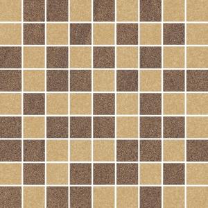 Ceramika Paradyz Arkesia mocca/brown mozaika mix poler - dlaždice mozaika 29,8x29,8 119213