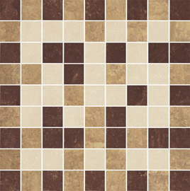 Ceramika Paradyz Mistral beige poler mozaika cieta mix - dlaždice mozaika 29,8x29,8 lesklá 114492