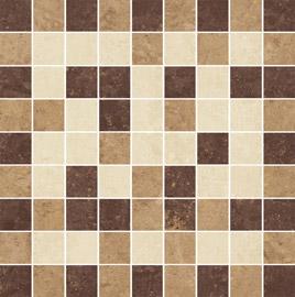 Ceramika Paradyz Mistral beige satyna mozaika cieta mix - dlaždice mozaika 29,8x29,8 matná 114261