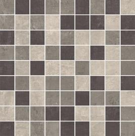 Ceramika Paradyz Mistral grys satyna mozaika cieta mix - dlaždice mozaika 29,8x29,8 matná 112779
