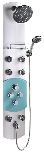 Ravak Jet - hliníkový hydromasážní panel s termostatem X01351