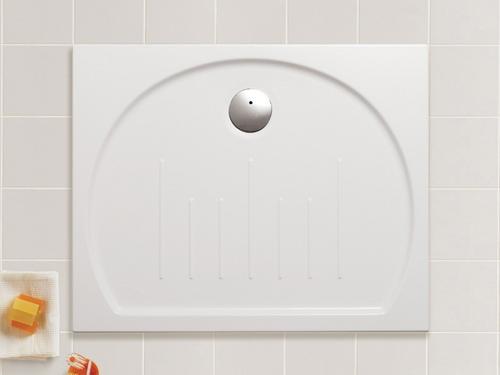 Roca Happening - keramická sprchová vanička obdélníková 100 x 80 cm A373565000