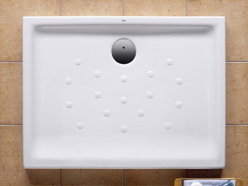 Roca Malta - keramická sprchová vanička obdélníková 100 x 75 cm A373506000