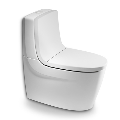 Roca Khroma - WC mísa kombi, hluboké splachování, vario odpad, bez nádržky, sedátka a opěradla A342657000